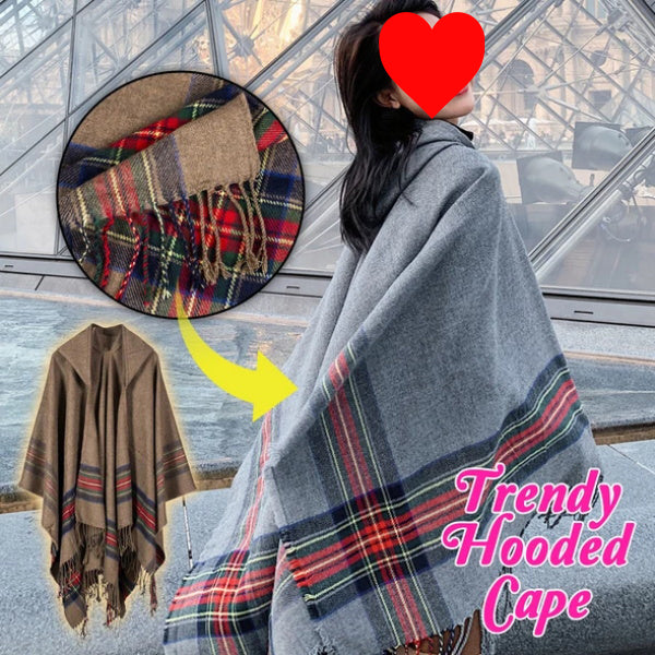 Women's Winter Trendy Hooded Cape