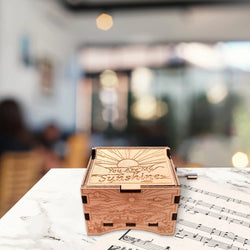 Classical Hand-operated Wooden Music Box(BUY 1 GET 2ND 10% OFF)