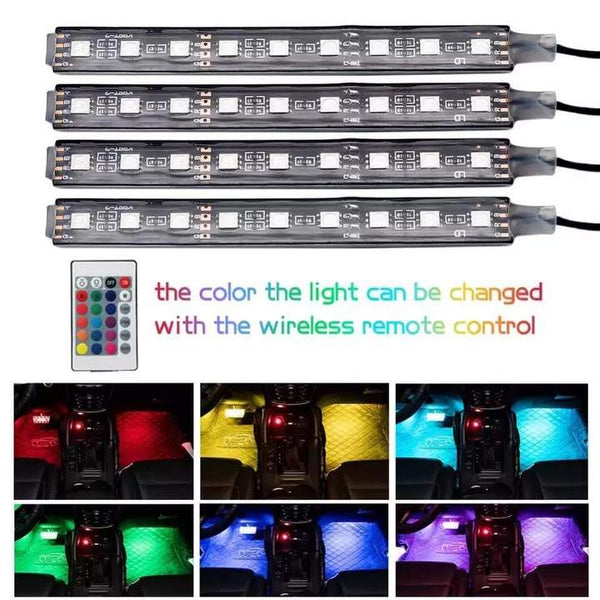 Car Built-in Atmosphere RGB Decorative Lights(BUY 1 GET 2ND 10% OFF)