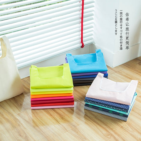Candy Color Canvas Aqua Bags