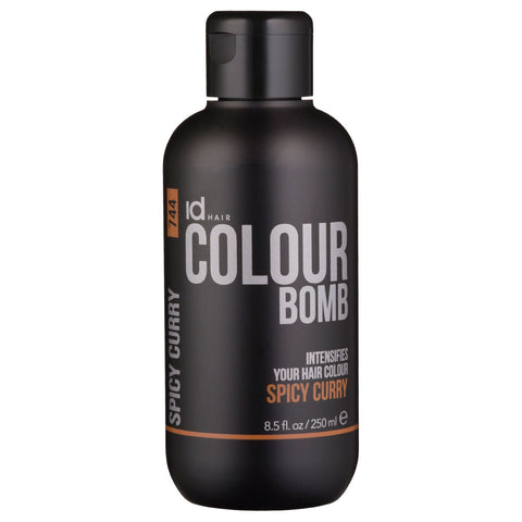 IdHAIR Colour Bomb, 744 Spicy Curry 250 ml