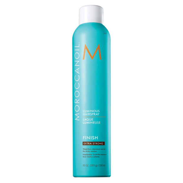 MOROCCANOIL Luminous Hairspray - Valovoimainen hiuskiinne, extra strong 330 ml