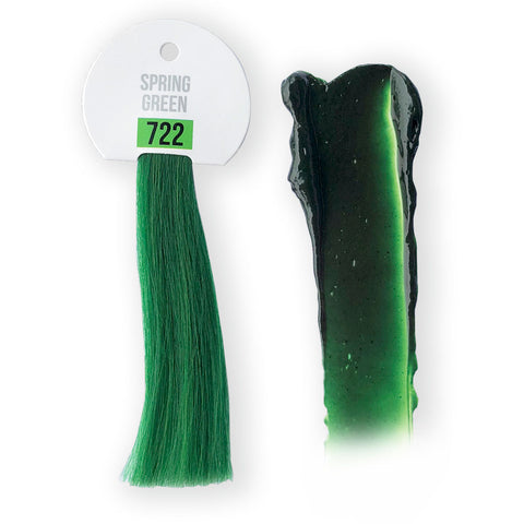 IdHAIR Colour Bomb, 722 Spring Green 250 ml