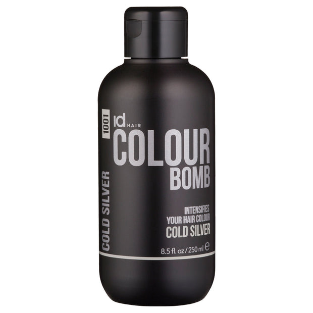IdHAIR Colour Bomb, 1001 Cold Silver 250 ml
