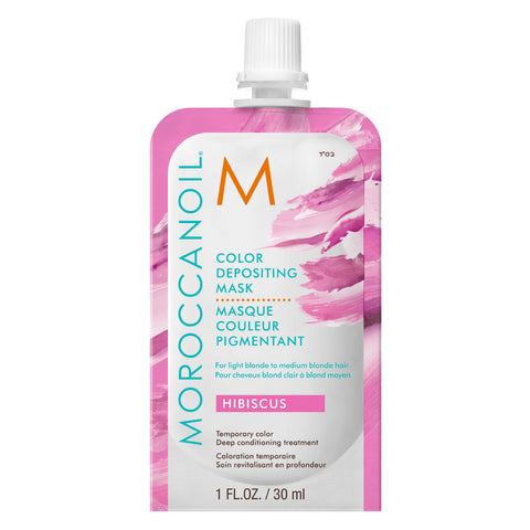 MOROCCANOIL Color Depositing Mask Hibiscus 30 ml