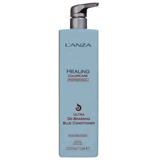 LANZA Healing ColorCare Ultra De-Brassing Blue Conditioner 1000 ml