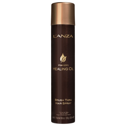 LANZA Keratin Healing Oil Brush Thru Hair Spray 350 ml