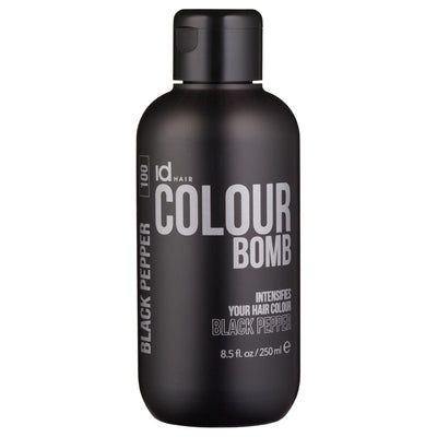 IdHAIR Colour Bomb, 100 Black Pepper 250 ml