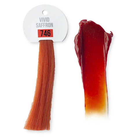 IdHAIR Colour Bomb, 746 Vivid Saffron 250 ml