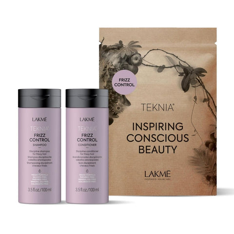Lakme TEKNIA Frizz Control Travel Pack