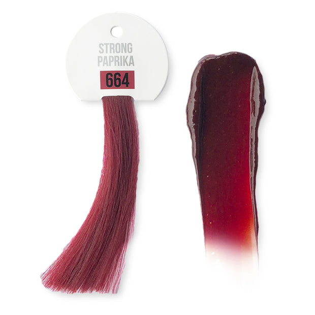 IdHAIR Colour Bomb, 664 Strong Paprika 250 ml