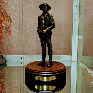 Johnny Ringo Bronze Sculpture By Larry Gay - Item #1198T SHIPPING INCLUDED