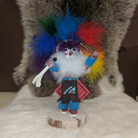Rainbow Navajo Kachina - Item #MZ-1217