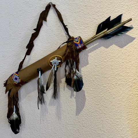 Navajo Quiver with arrows