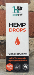 Hemp Pet Hemp Drops (50ml)