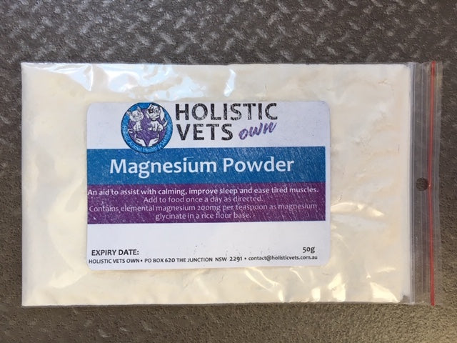 Holistic Vets Own Magnesium Powder (50g)