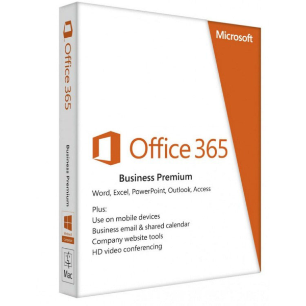 Microsoft Office 365 Business Premium, 1 Year