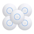 Ubiquiti UniFi AP AC HD Indoor/ Outdoor Wave 2 Access Point 5 Pack