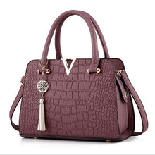 Load image into Gallery viewer, Fashion 2019 Crocodile Leather Bag
