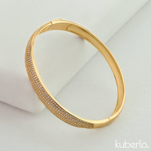 Melody Bangle Gold - Kuberlo - Best Gift for - Imitation Jewellery - Designer Jewellery - one gram gold - fashion jewellery