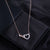Infinite Love Crystal Necklace