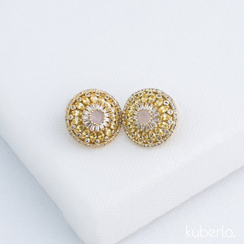 Vihana Stud Earrings - Kuberlo - Best Gift for - Imitation Jewellery - Designer Jewellery - one gram gold - fashion jewellery