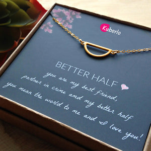 Better Half Statement Necklace