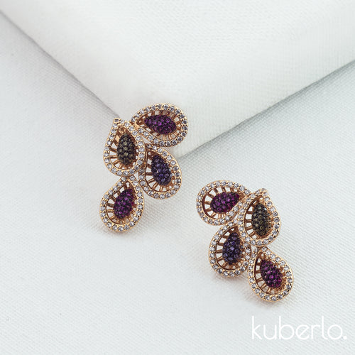 Holi Studs - Kuberlo - Best Gift for - Imitation Jewellery - Designer Jewellery - one gram gold - fashion jewellery
