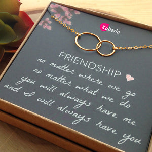 Friendship Goals Statement Necklace