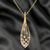 Drop Crystal Pendant - Kuberlo - Best Gift for - Imitation Jewellery - Designer Jewellery - one gram gold - fashion jewellery