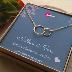 Mom & Son Memory Statement Necklace