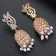 Tanoor Jhumka Earrings - Kuberlo - Best Gift for - Imitation Jewellery - Designer Jewellery - one gram gold - fashion jewellery