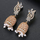 Tanoor Jhumka Earrings - Kuberlo