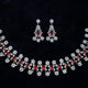 Royal Raaga Ruby Necklace Set