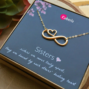 Sister's Love Statement Necklace
