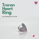 Treron Heart Ring
