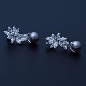 Princess Pearl Earrings - Kuberlo - Best Gift for - Imitation Jewellery - Designer Jewellery - one gram gold - fashion jewellery