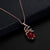 Red storm Pendant set - Kuberlo - Best Gift for - Imitation Jewellery - Designer Jewellery - one gram gold - fashion jewellery