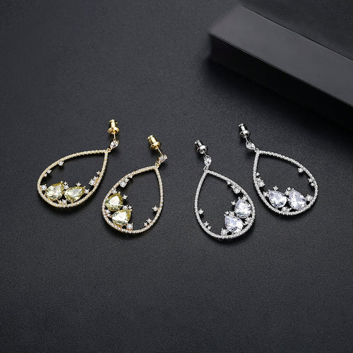 Treasure Dangler earrings - Kuberlo - Best Gift for - Imitation Jewellery - Designer Jewellery - one gram gold - fashion jewellery