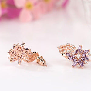 Purple Flame Studs - Kuberlo - Best Gift for - Imitation Jewellery - Designer Jewellery - one gram gold - fashion jewellery