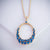 Kanoor Pendant - Blue - Kuberlo - Best Gift for - Imitation Jewellery - Designer Jewellery - one gram gold - fashion jewellery