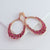 Gift Kanoor Ruby Dangler earrings - Kuberlo - Best Gift for - Imitation Jewellery - Designer Jewellery - one gram gold - fashion jewellery