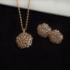 Floral Pendant Set Gold - Kuberlo - Best Gift for - Imitation Jewellery - Designer Jewellery - one gram gold - fashion jewellery