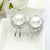 Pearl Studs Silver - Kuberlo - Best Gift for - Imitation Jewellery - Designer Jewellery - one gram gold - fashion jewellery