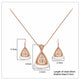 Elegance Pendant Set - Kuberlo - Best Gift for - Imitation Jewellery - Designer Jewellery - one gram gold - fashion jewellery