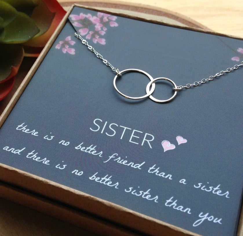 Sisters Love Necklace