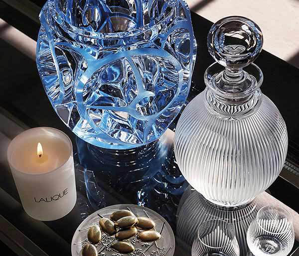 MAKE YOUR MELBOURNE HOME LOOK BEAUTIFUL WITH LALIQUE BOWLS, VASES AND GLASSES