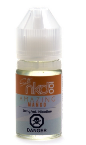 Amazing Mango (Nic Salt) E-Liquid by Nkd 100  - 30mL 20MG NICOTINE - 420 Hippy Inc