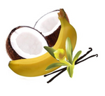 Coconut & Banana E-Liquid 30mL by 180 Smoke Shop 3MG NICOTINE - 420 Hippy Inc