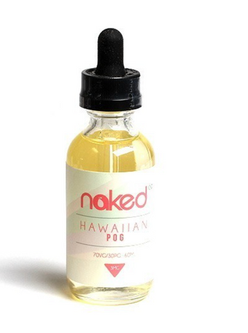Hawaiian Pog 60mL E-Liquid by Naked NICOTINE FREE - 420 Hippy Inc